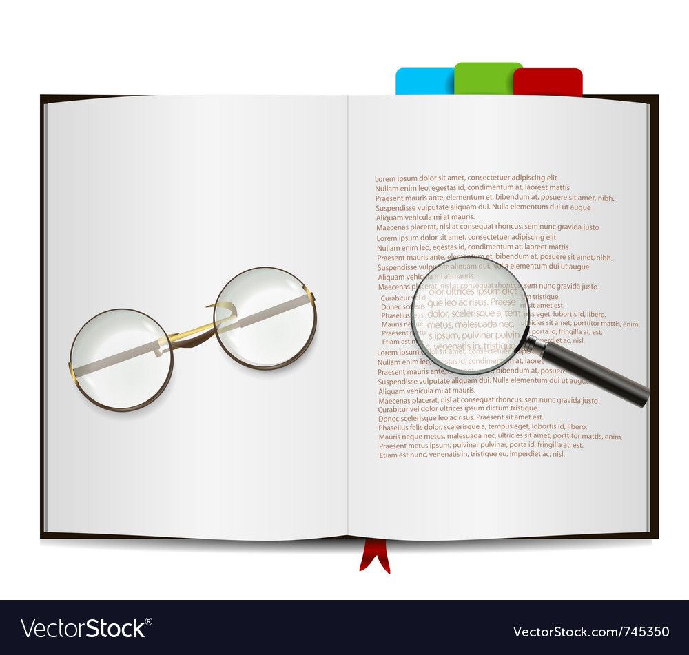 Book object vector | Price: 1 Credit (USD $1)