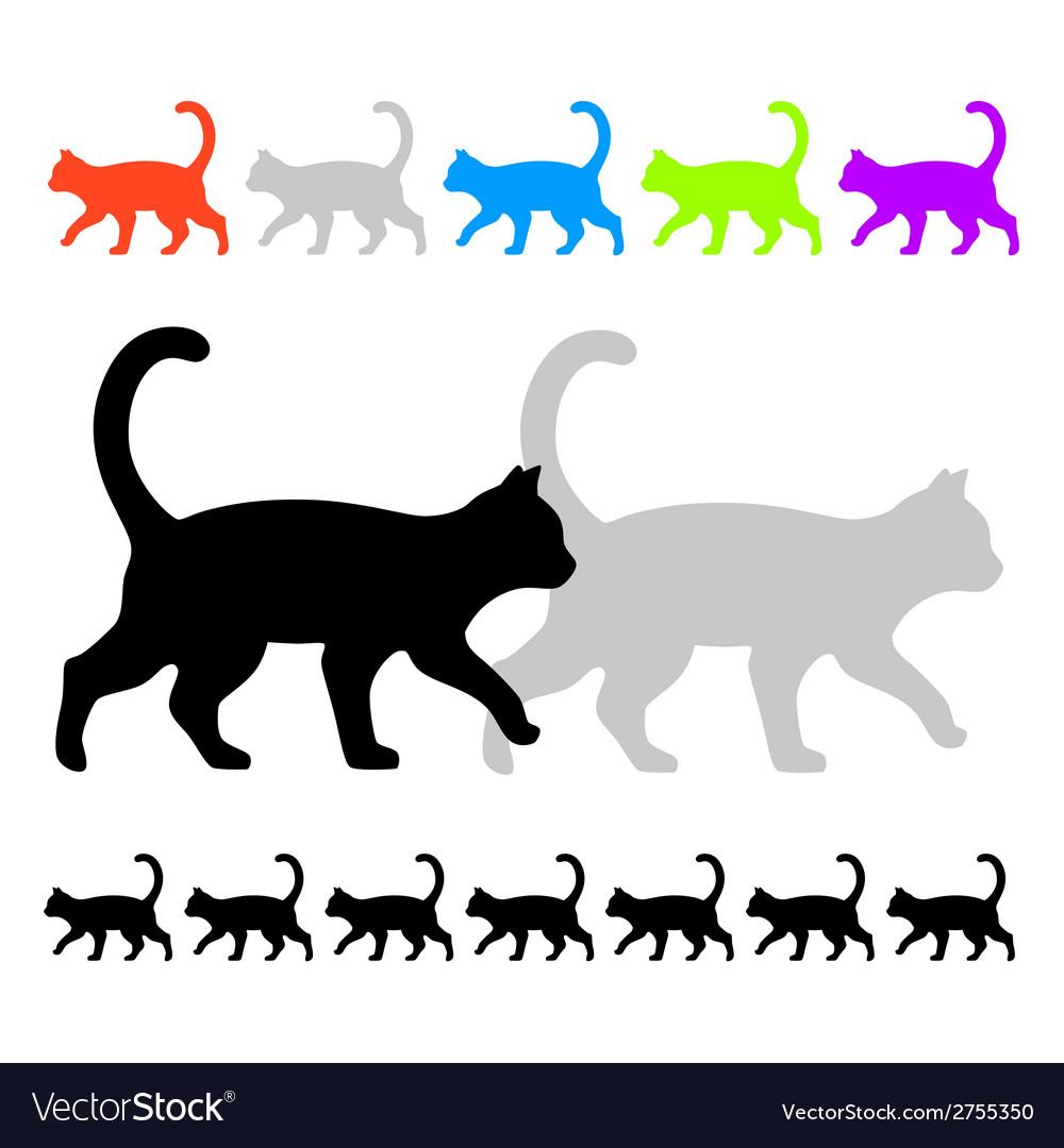 Cat ornament vector | Price: 1 Credit (USD $1)