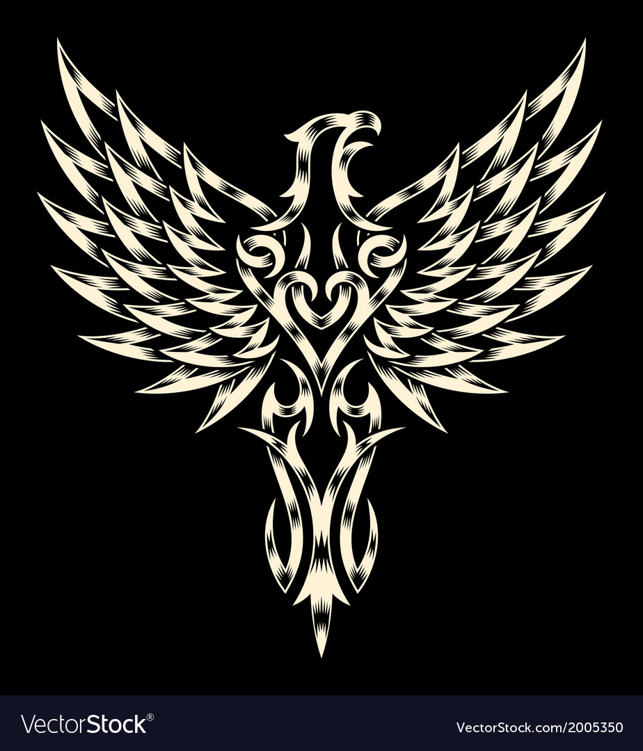 Heraldry eagle vector | Price: 1 Credit (USD $1)