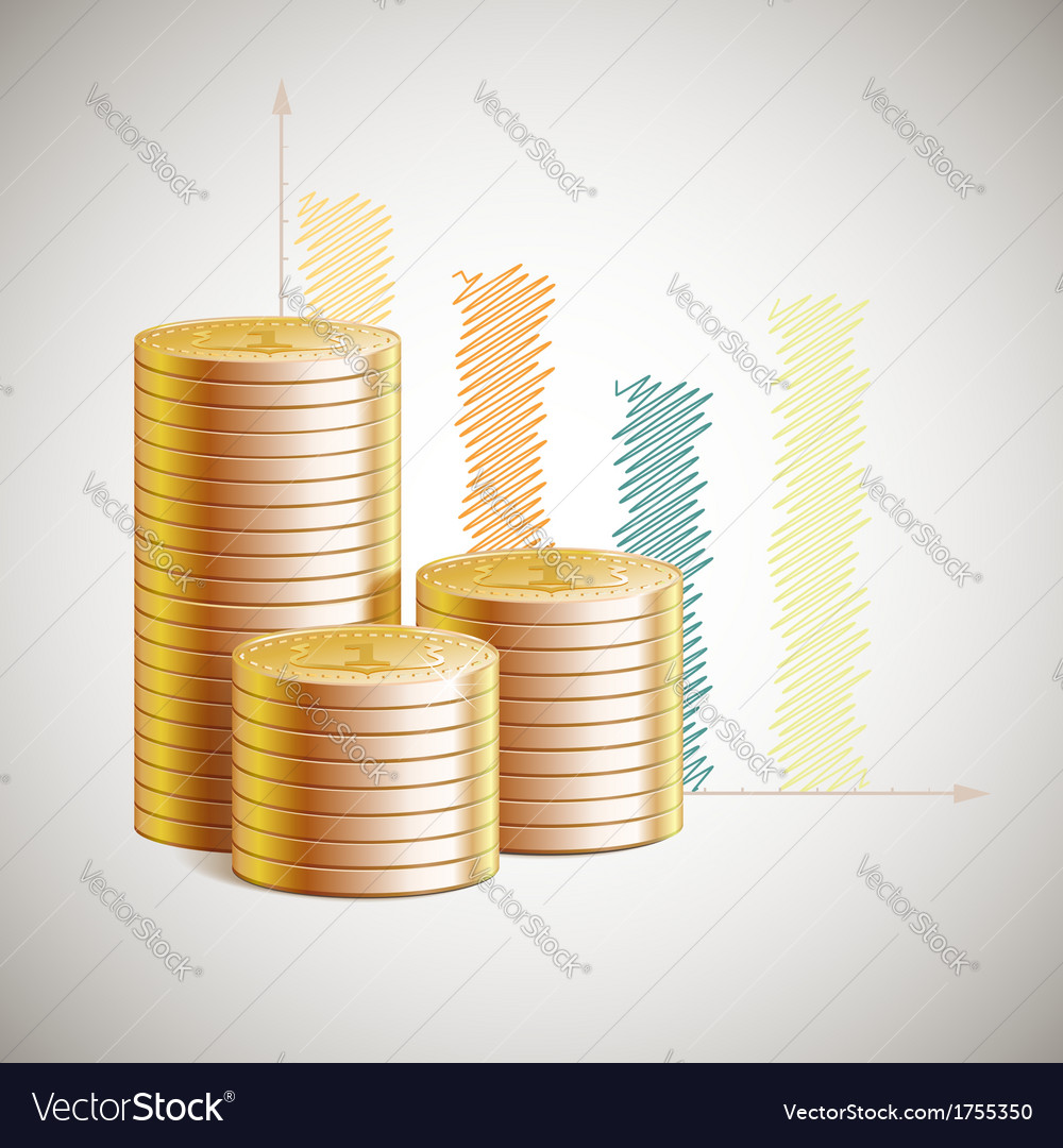 Stack of money vector | Price: 1 Credit (USD $1)