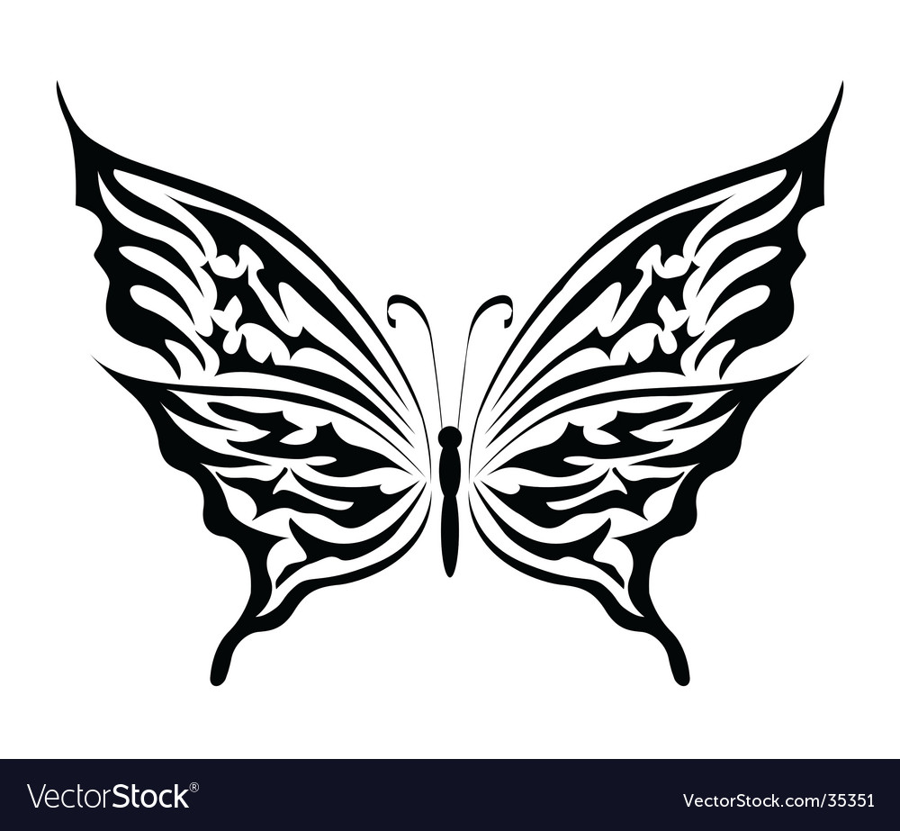 The butterfly vector | Price: 1 Credit (USD $1)