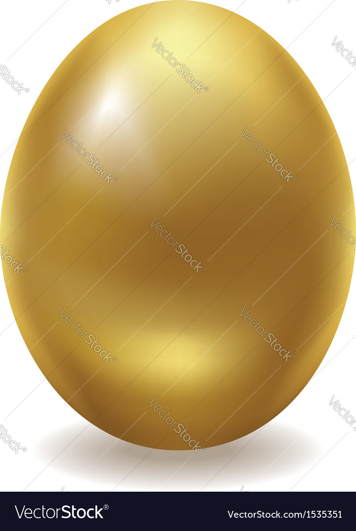 Golden egg vector | Price: 1 Credit (USD $1)