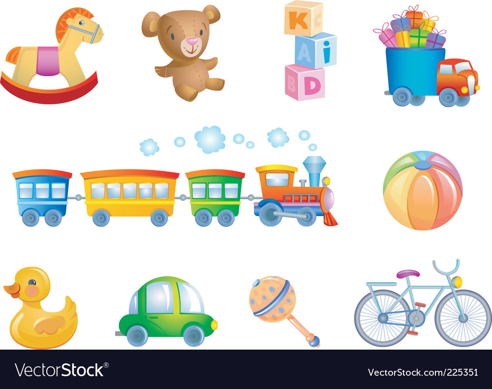 Toys vector | Price: 3 Credit (USD $3)