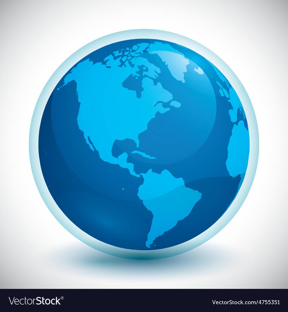 World design vector | Price: 1 Credit (USD $1)