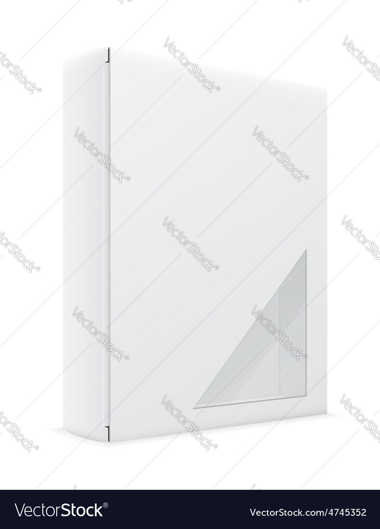 White box 09 vector | Price: 1 Credit (USD $1)
