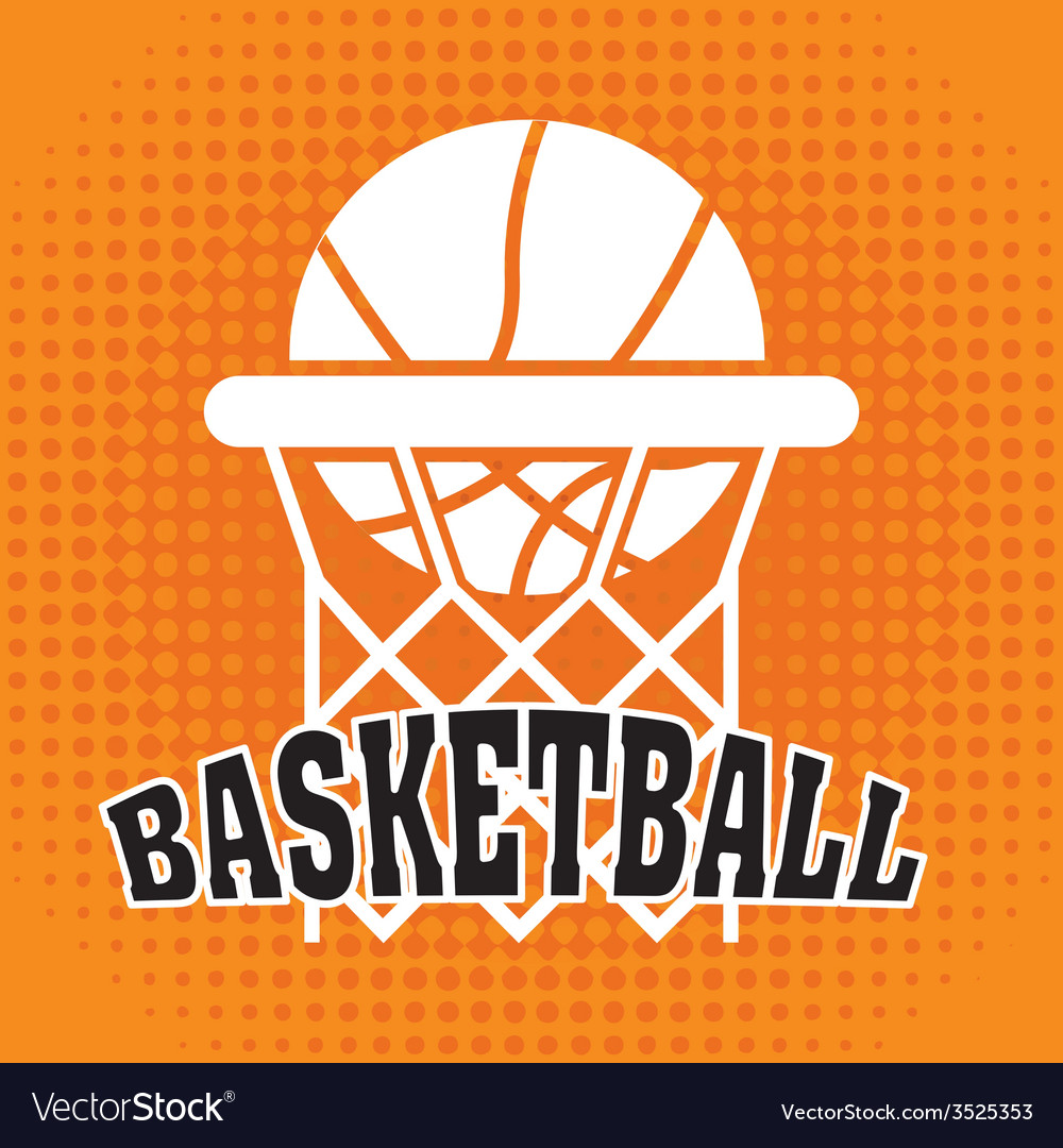 Basketball design vector | Price: 1 Credit (USD $1)