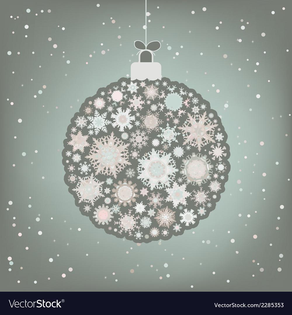 Beautiful christmas ball  eps 8 vector | Price: 1 Credit (USD $1)