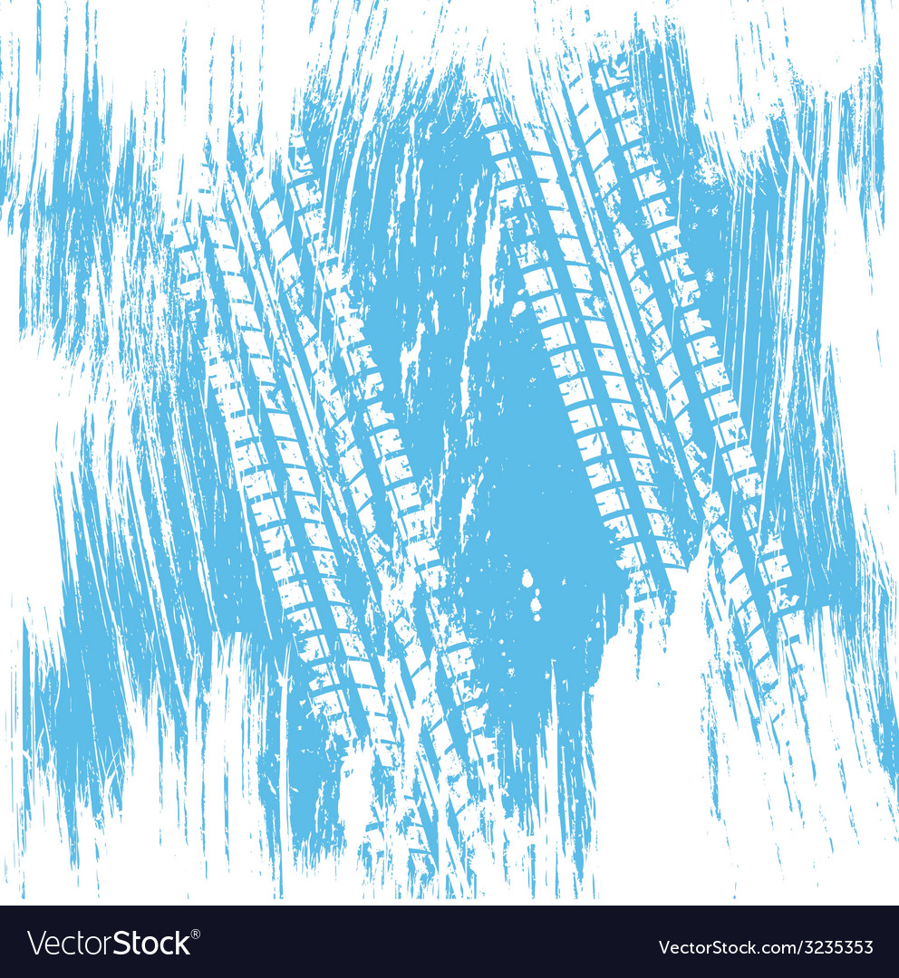 Blue tire track background vector   Price: 1 Credit (USD $1)