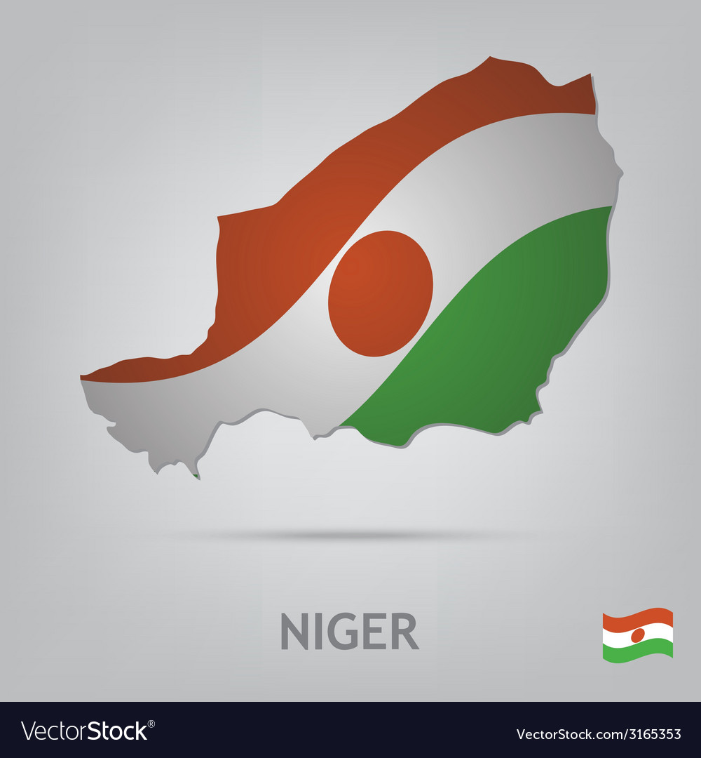 Country niger vector | Price: 1 Credit (USD $1)