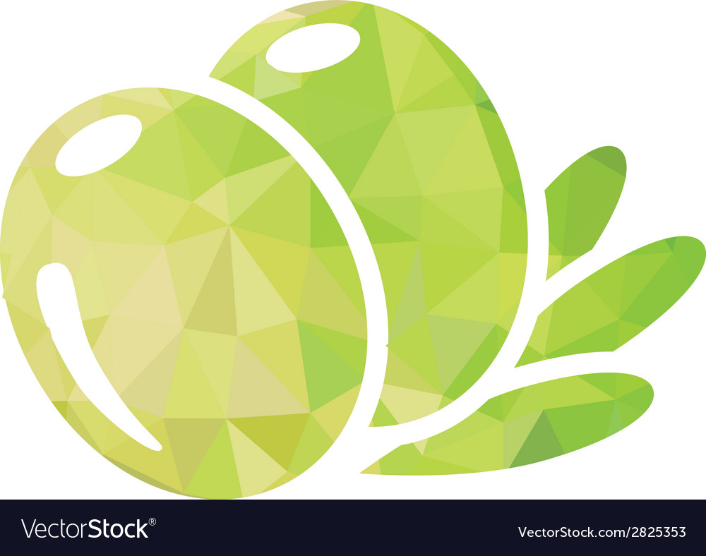 Olive icon vector | Price: 1 Credit (USD $1)