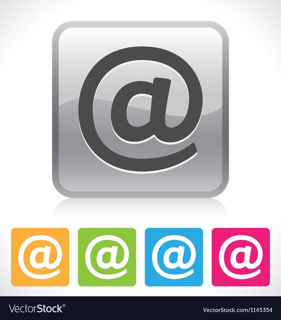 Email button vector | Price: 1 Credit (USD $1)