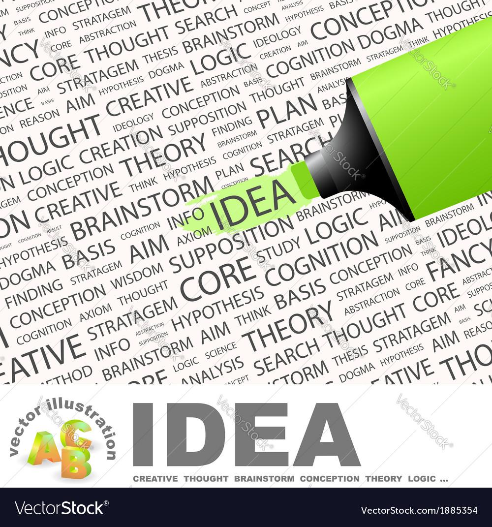 Idea vector   Price: 1 Credit (USD $1)