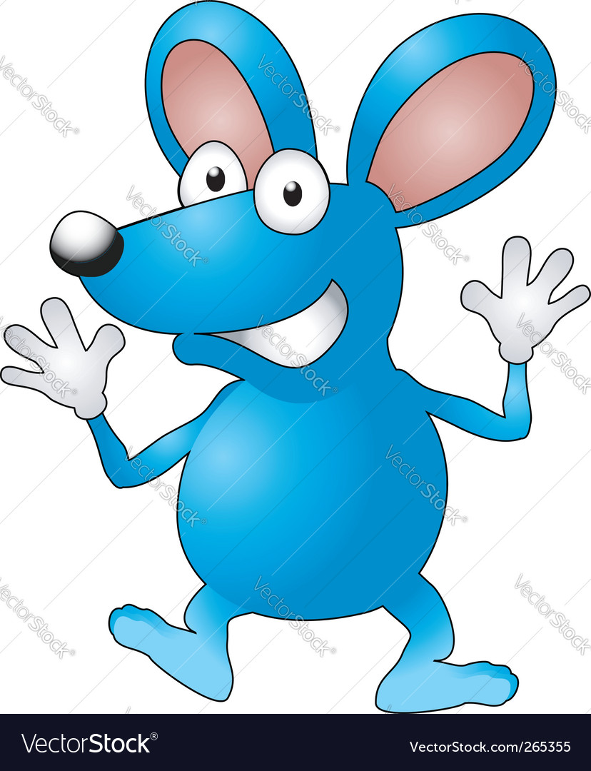 Cartoon mouse vector | Price: 1 Credit (USD $1)