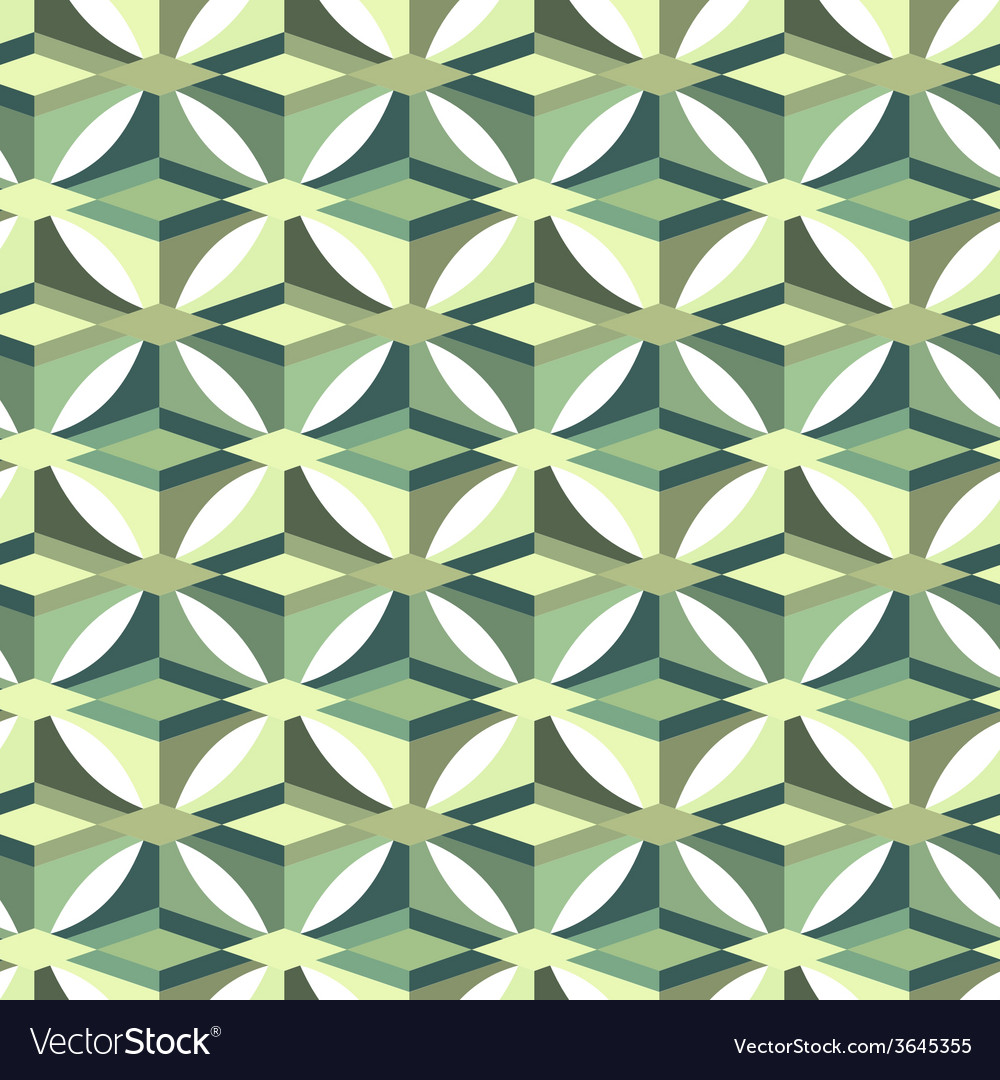 Seamless abstract triangle pattern vector | Price: 1 Credit (USD $1)