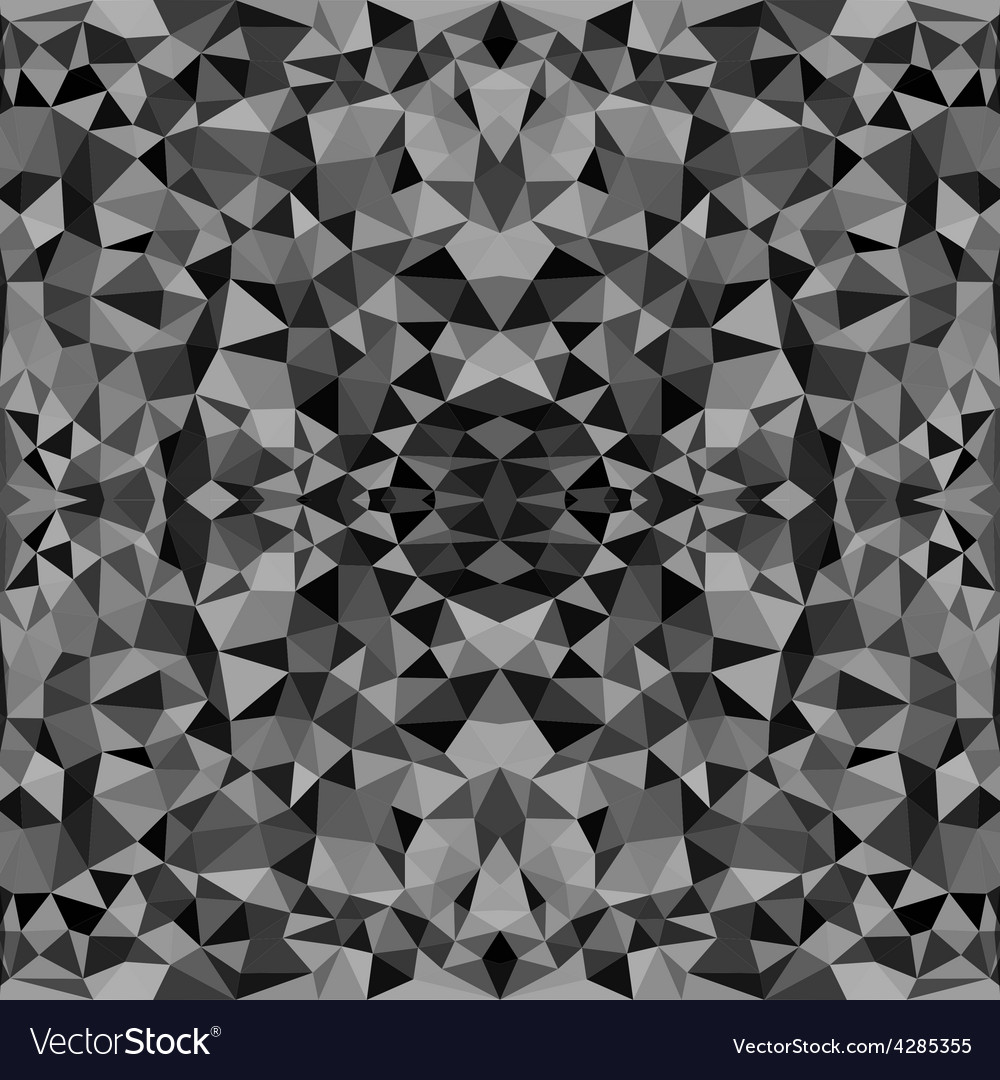 Seamless texture with triangles mosaic endless vector   Price: 1 Credit (USD $1)