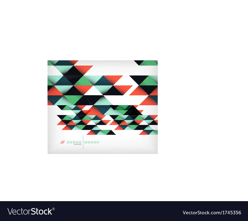 Business geometric shape background - triangles vector | Price: 1 Credit (USD $1)