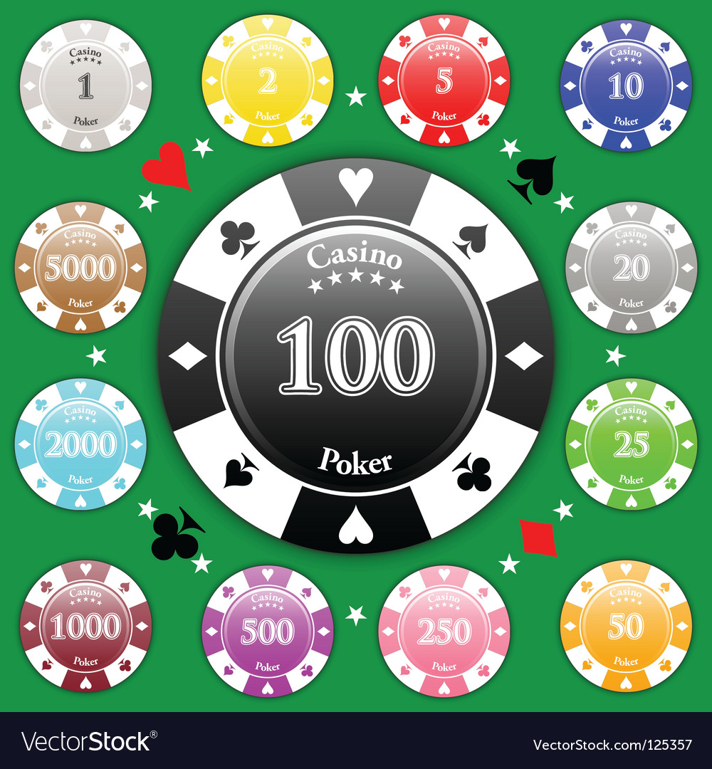 Poker chips vector   Price: 1 Credit (USD $1)