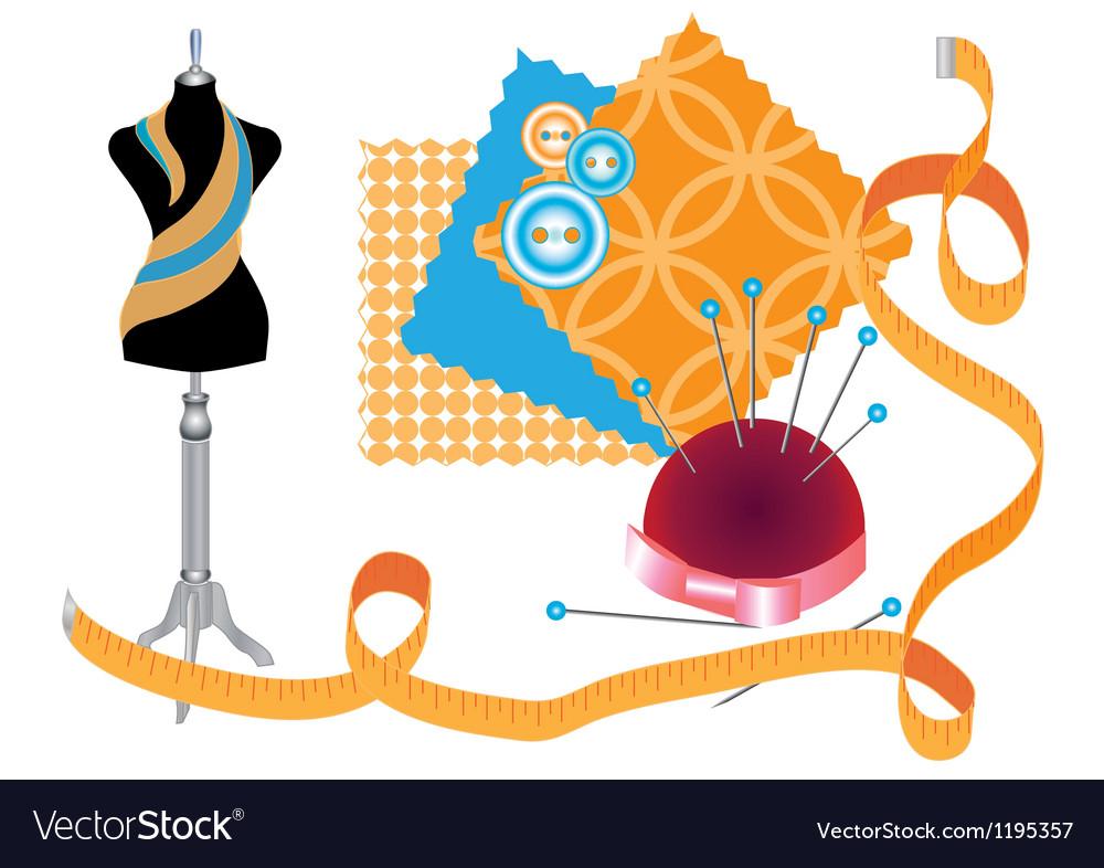 Sewing workshop vector   Price: 1 Credit (USD $1)