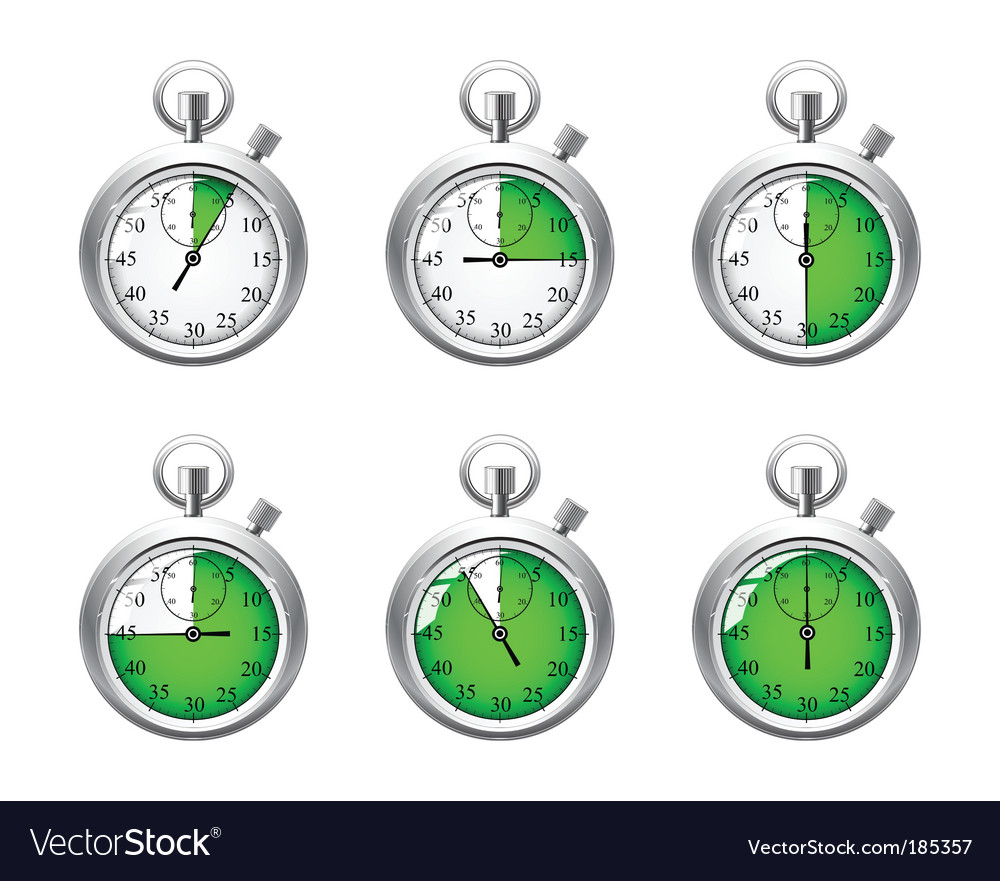 Stopwatch object vector | Price: 1 Credit (USD $1)