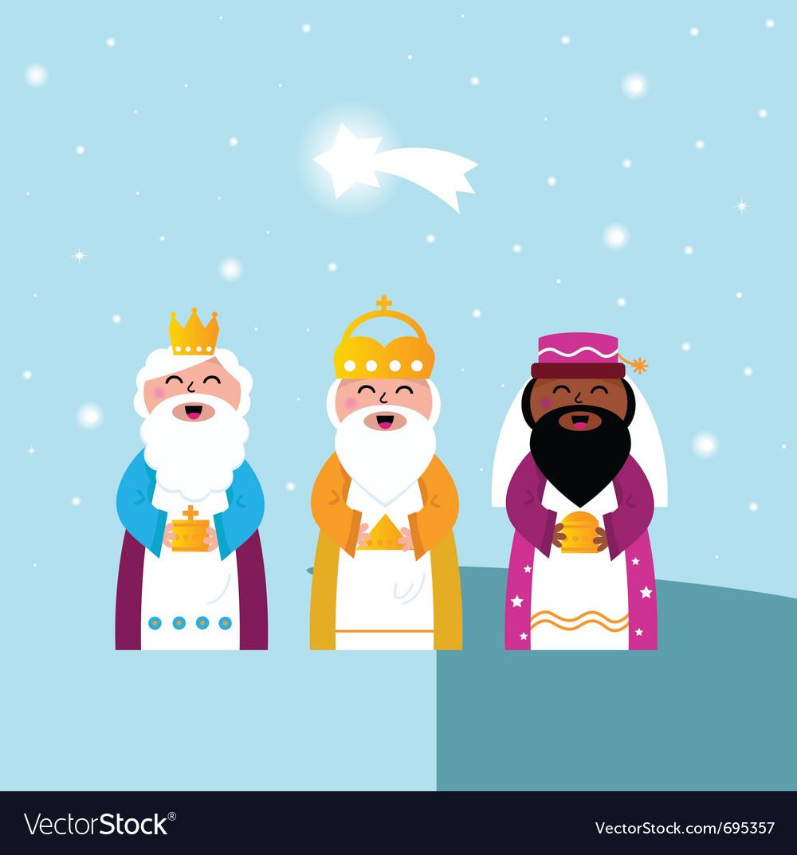 Three wise men vector | Price: 1 Credit (USD $1)