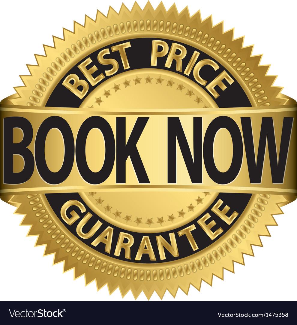 Book now best price guarantee golden label vector   Price: 1 Credit (USD $1)