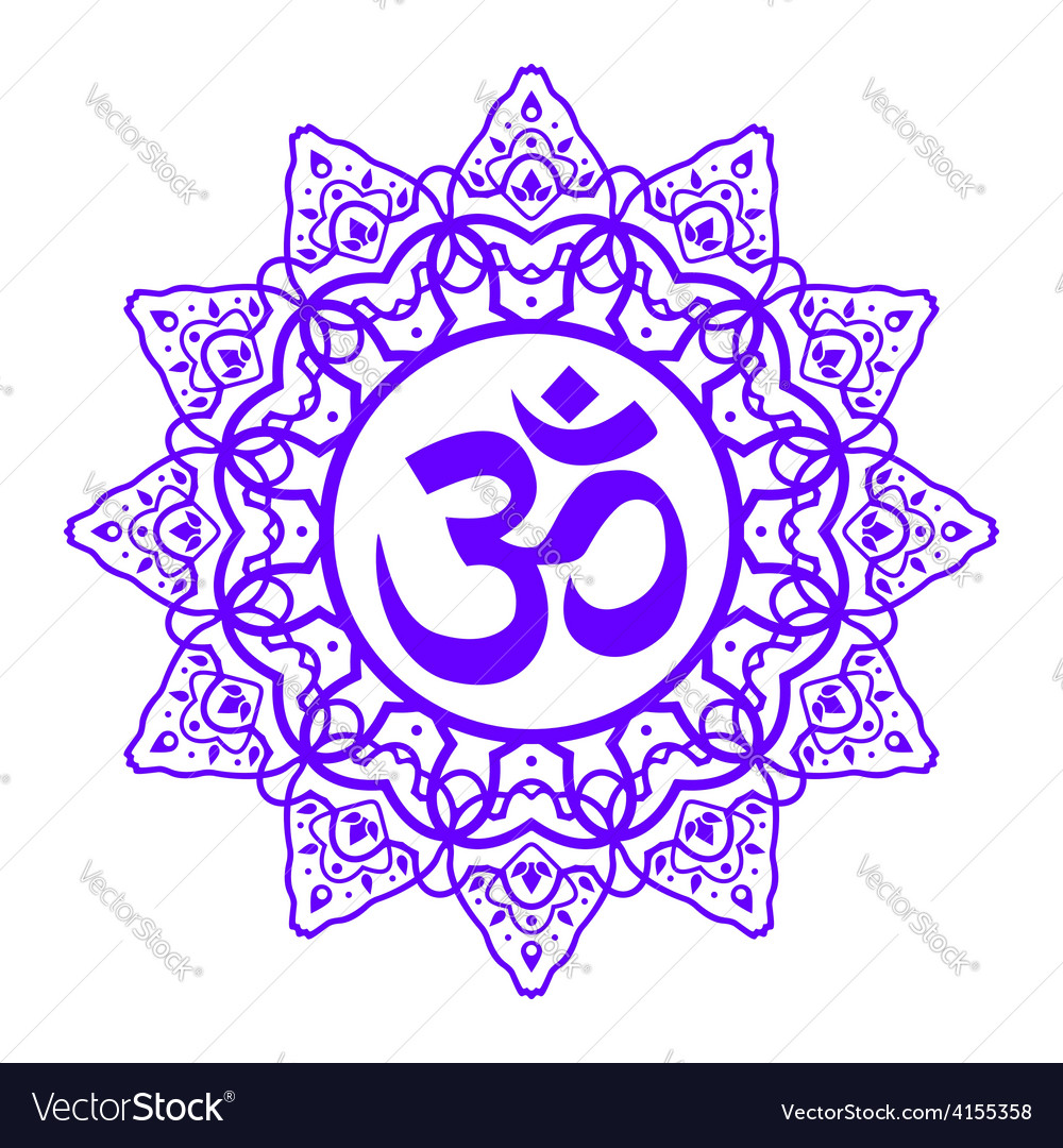 Om aum symbol vector | Price: 1 Credit (USD $1)