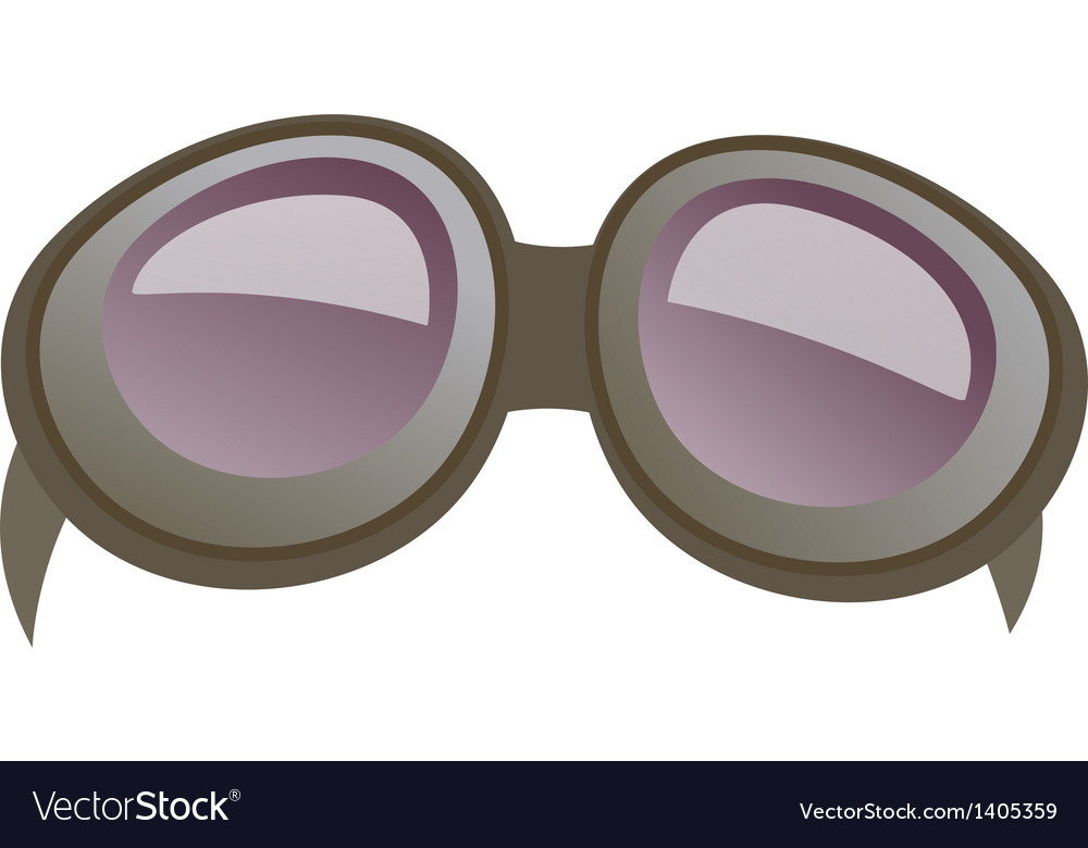 A goggle is placed vector   Price: 1 Credit (USD $1)