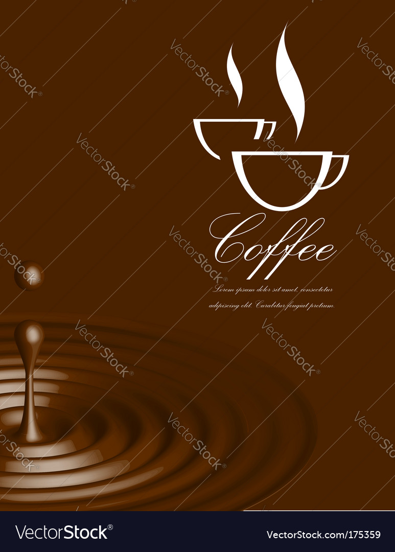 Coffee illustration vector | Price: 1 Credit (USD $1)