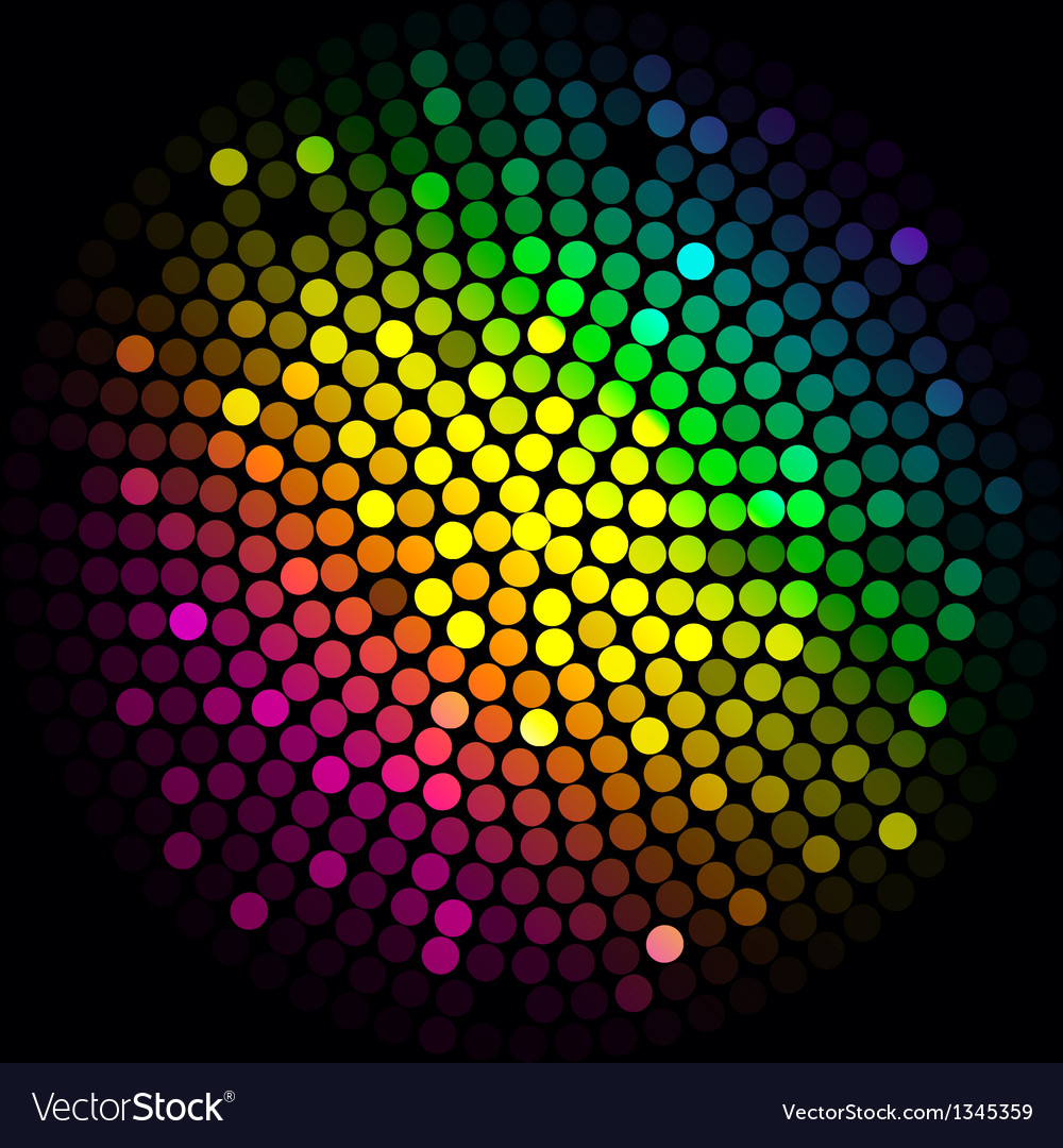 Colorful lights - abstract background vector | Price: 1 Credit (USD $1)