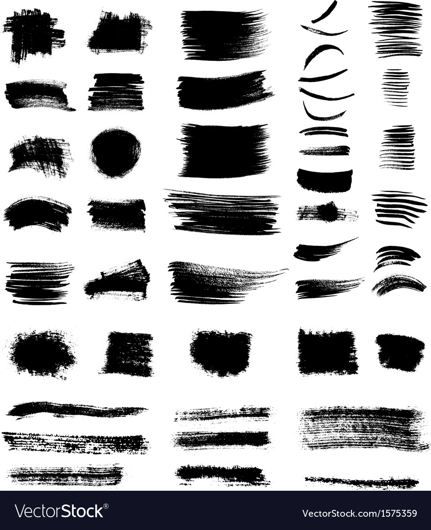 Grungy shapes vector | Price: 1 Credit (USD $1)