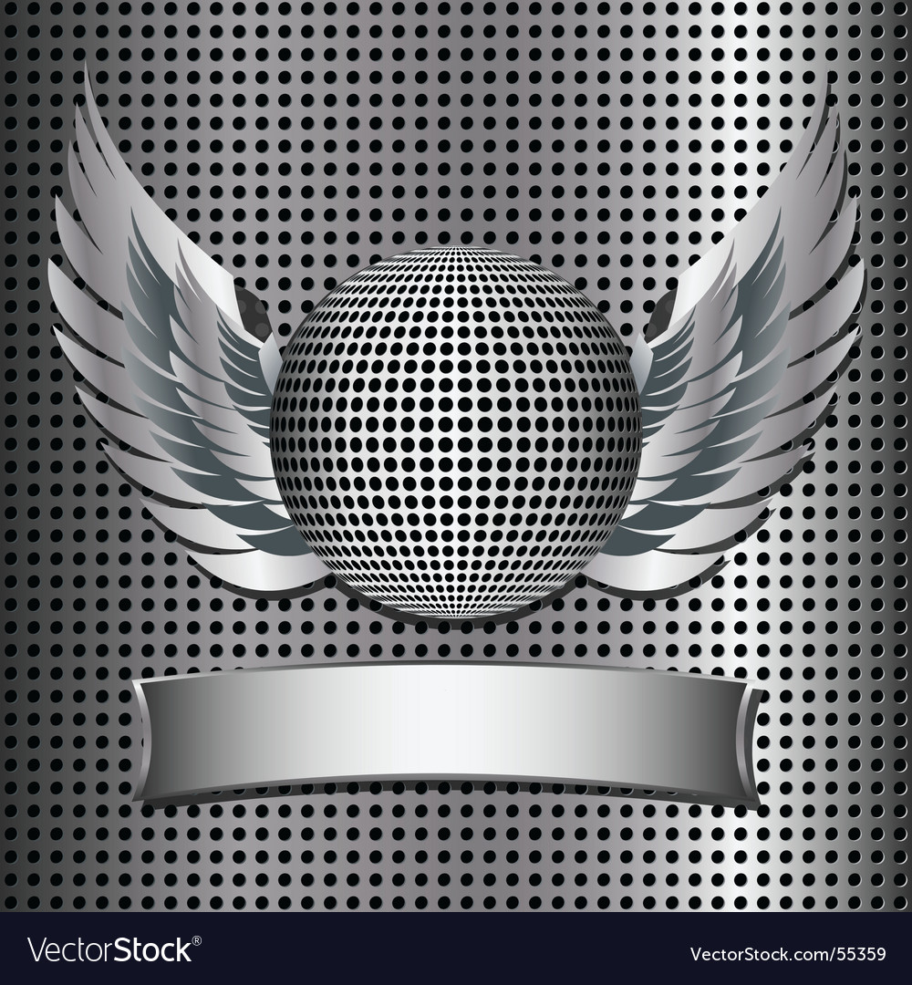 Metallic disco ball vector | Price: 1 Credit (USD $1)