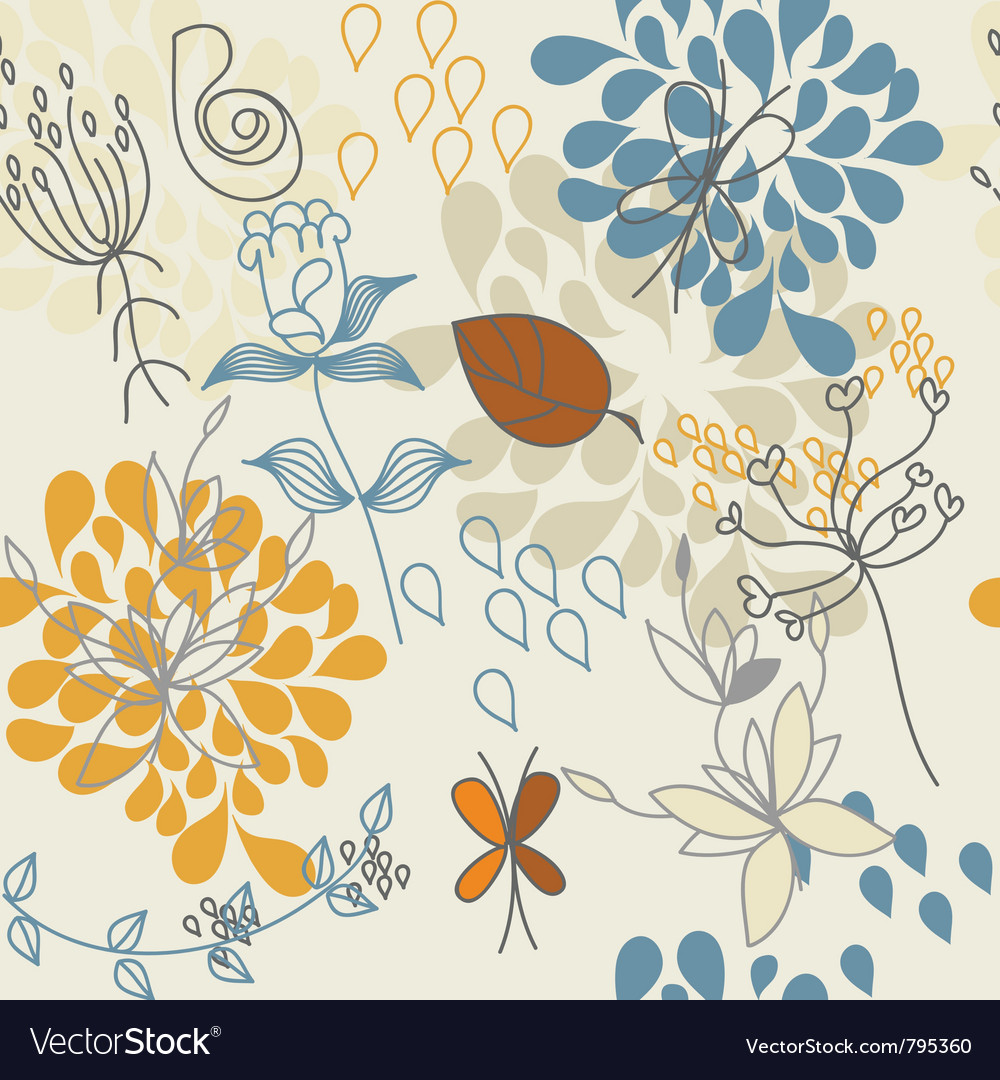 Autumn flower vector | Price: 1 Credit (USD $1)