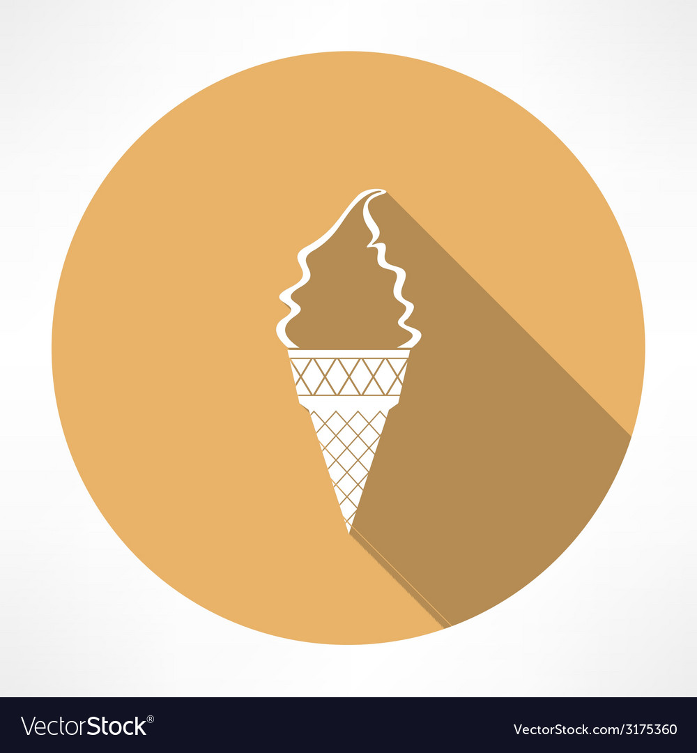 Ice cream icon vector | Price: 1 Credit (USD $1)