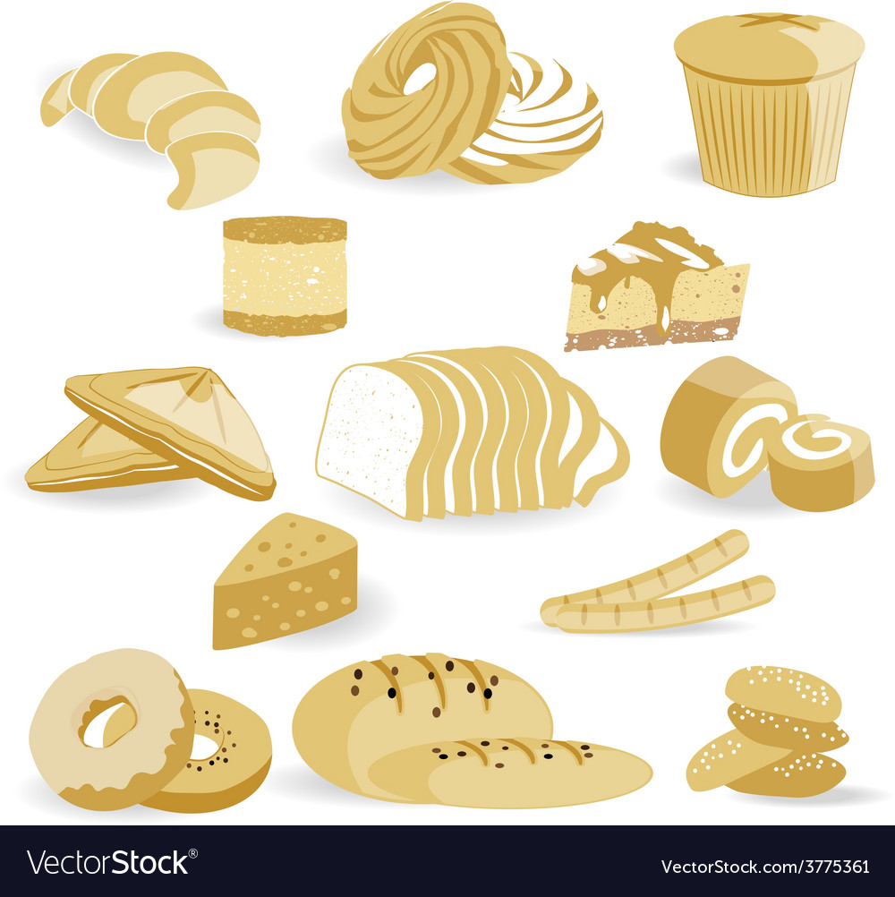 Bread bakery vector | Price: 1 Credit (USD $1)