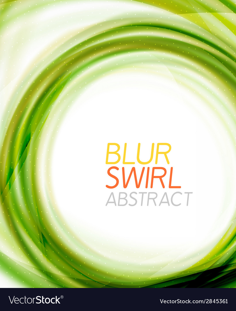 Business color swirl minimal design template vector | Price: 1 Credit (USD $1)