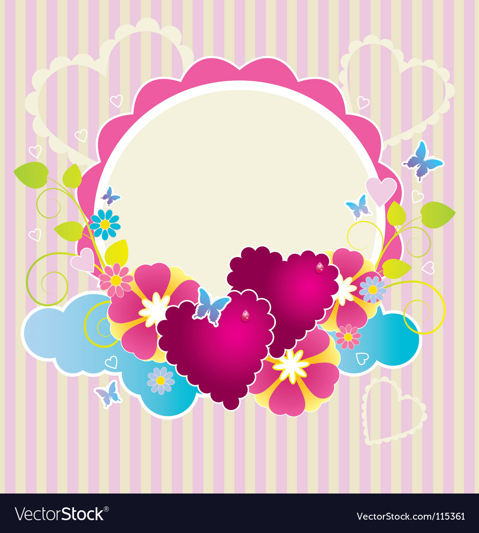 Funky frame vector | Price: 1 Credit (USD $1)