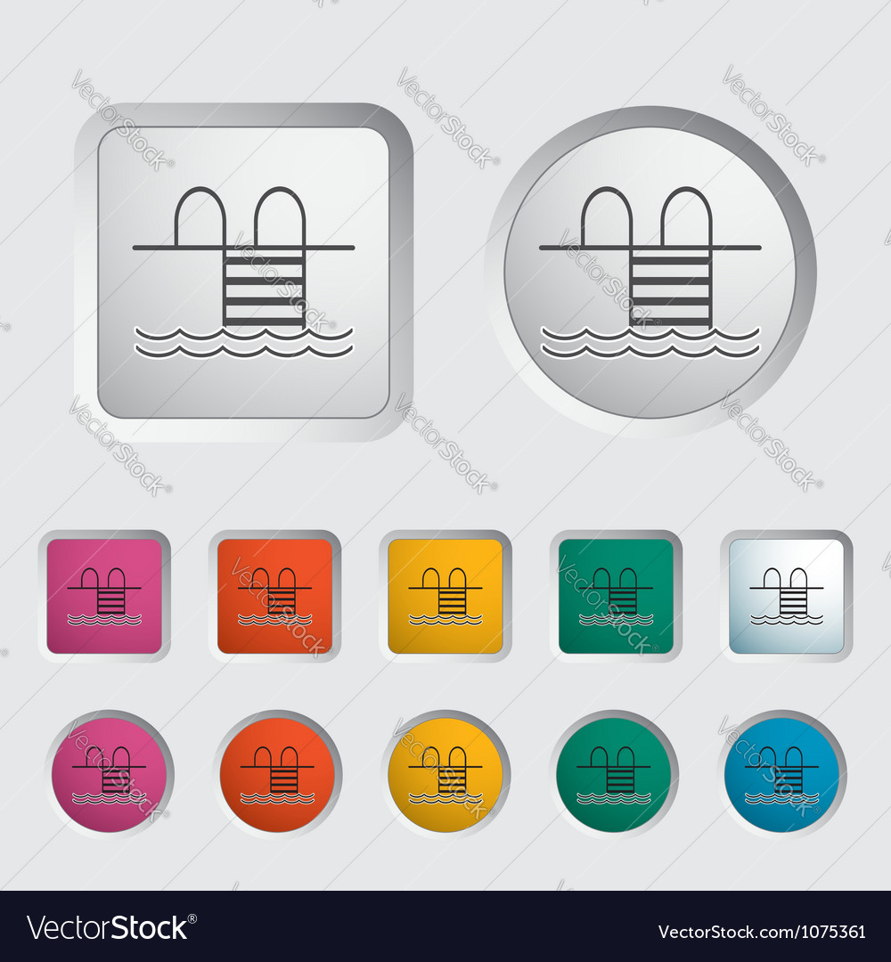 Pool icon 2 vector | Price: 1 Credit (USD $1)