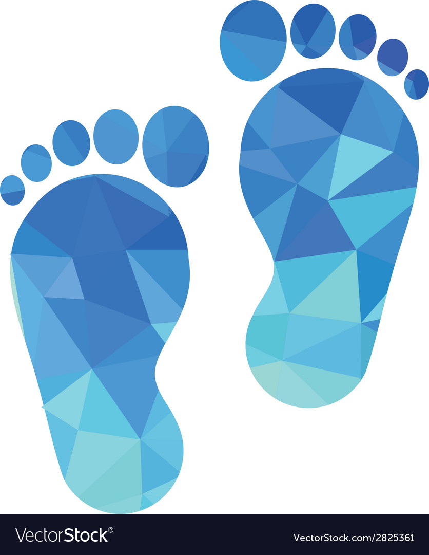 Sole of the foot icon vector | Price: 1 Credit (USD $1)