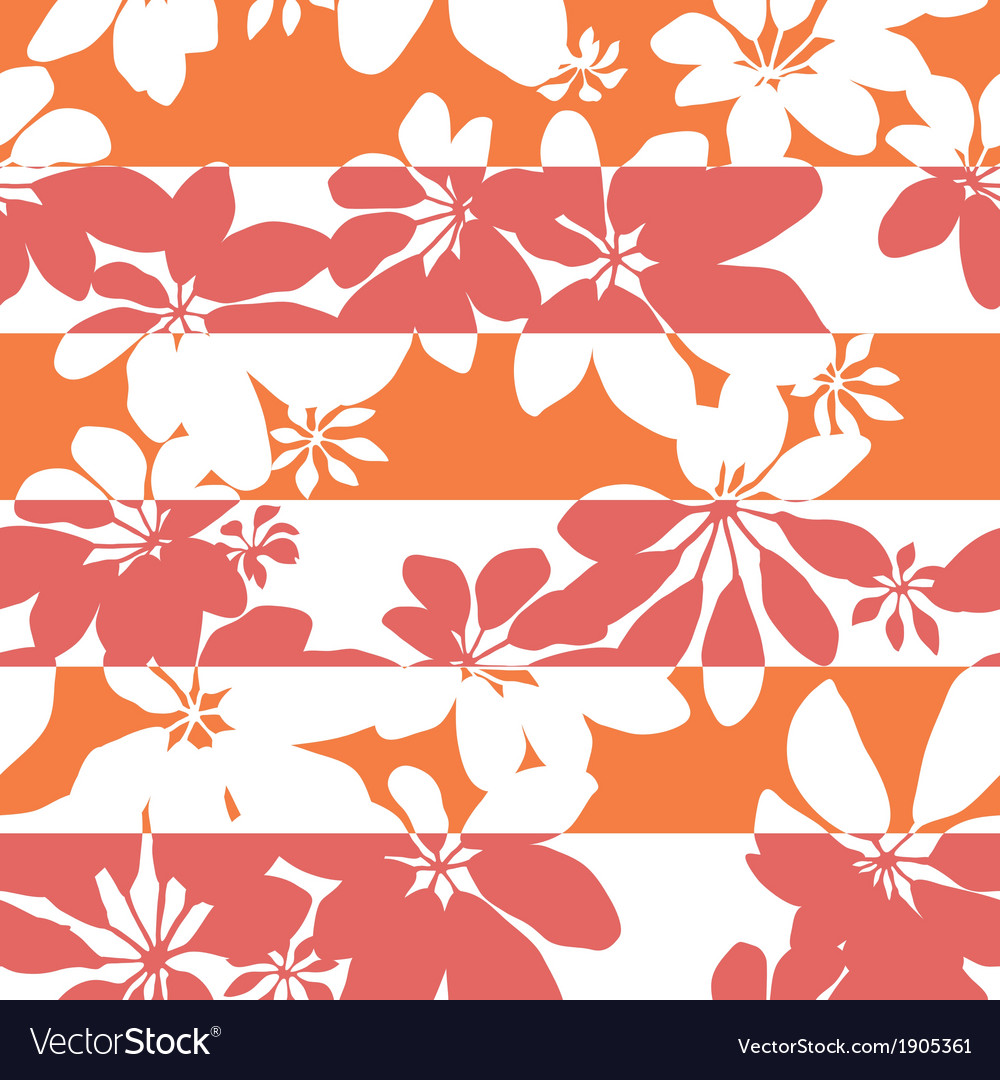 Stripe pop botanical vector | Price: 1 Credit (USD $1)