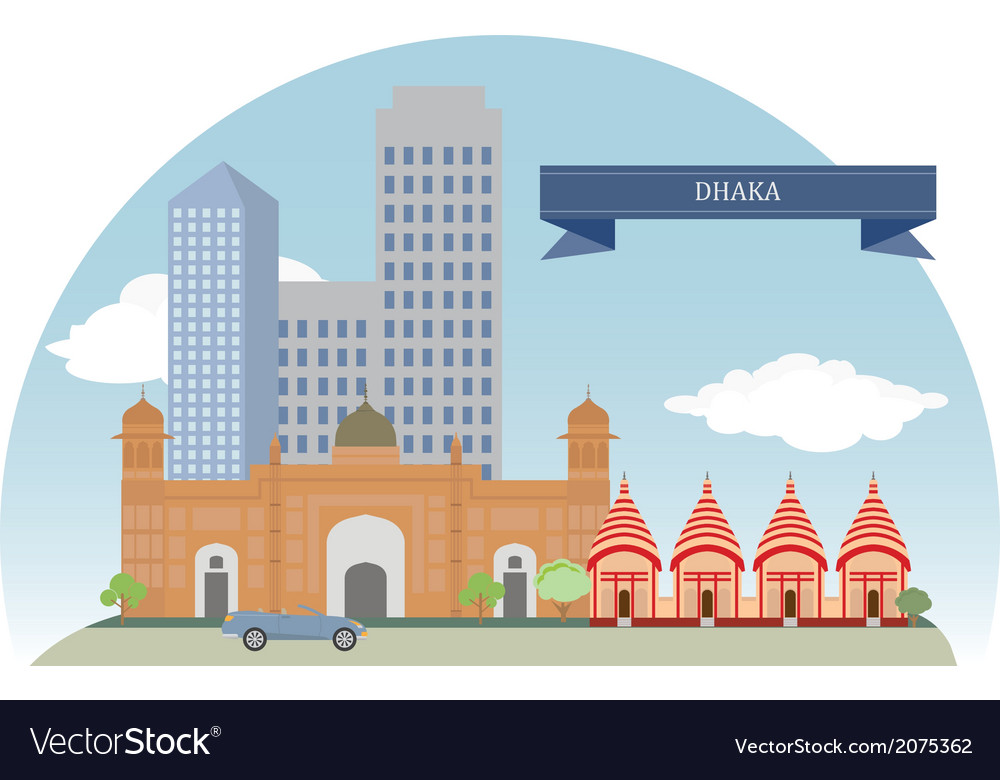 Dhaka vector | Price: 1 Credit (USD $1)