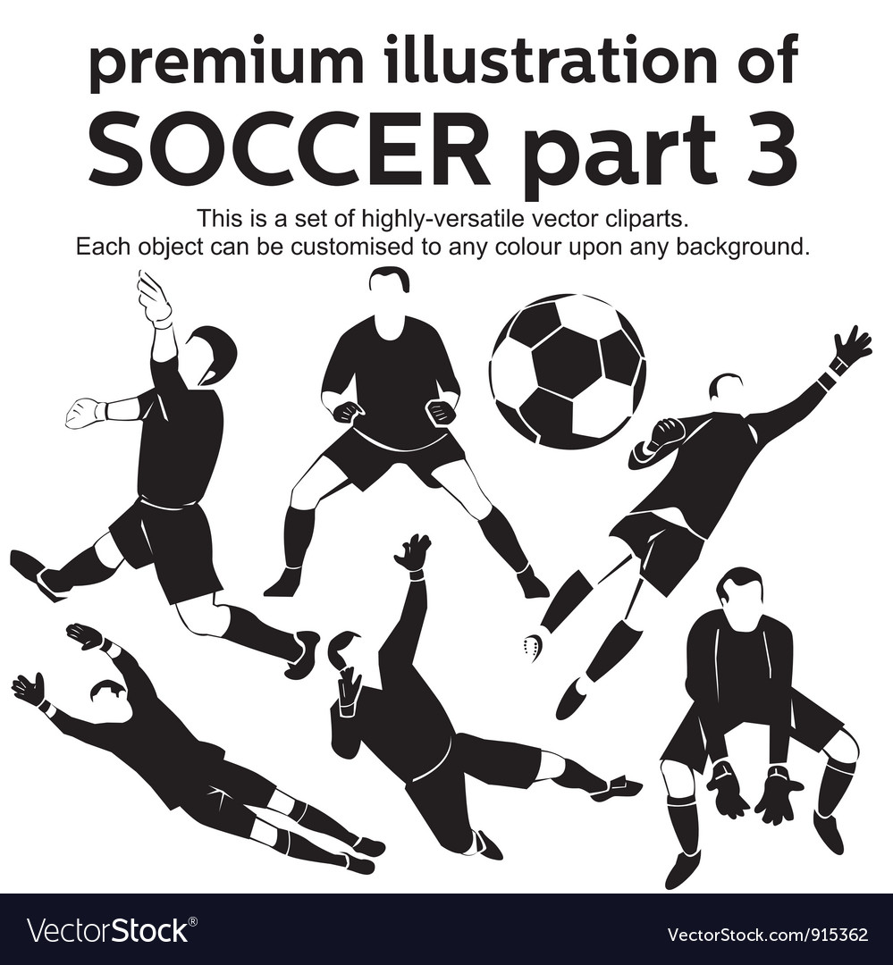 Premium soccer part 3 vector   Price: 1 Credit (USD $1)