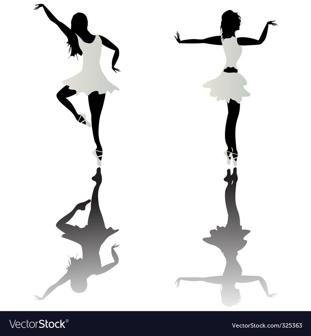 Ballet dancer vector | Price: 1 Credit (USD $1)