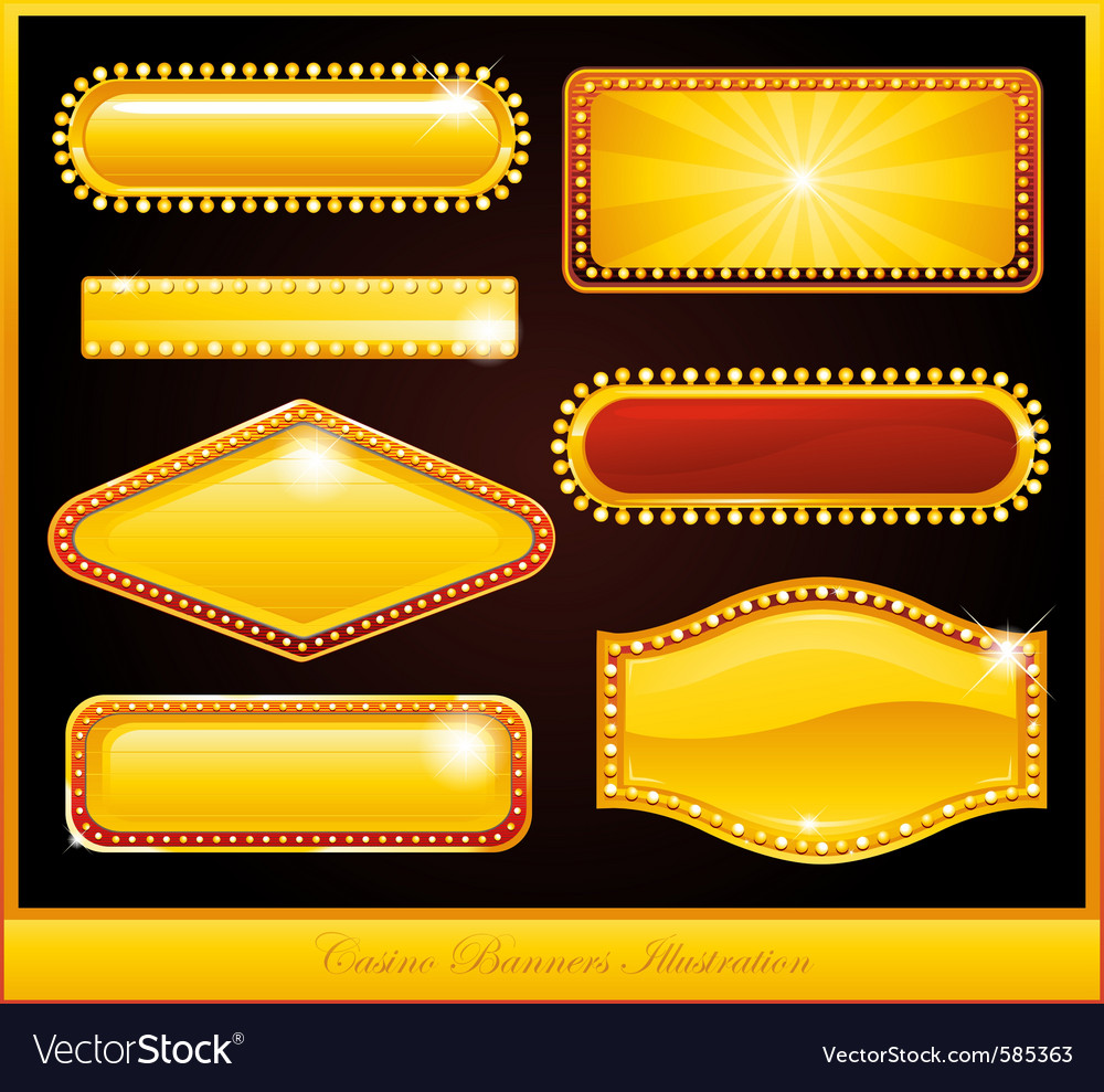 Casino buttons vector | Price: 1 Credit (USD $1)