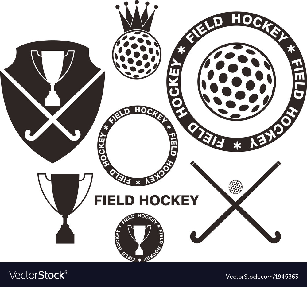 Field hockey vector