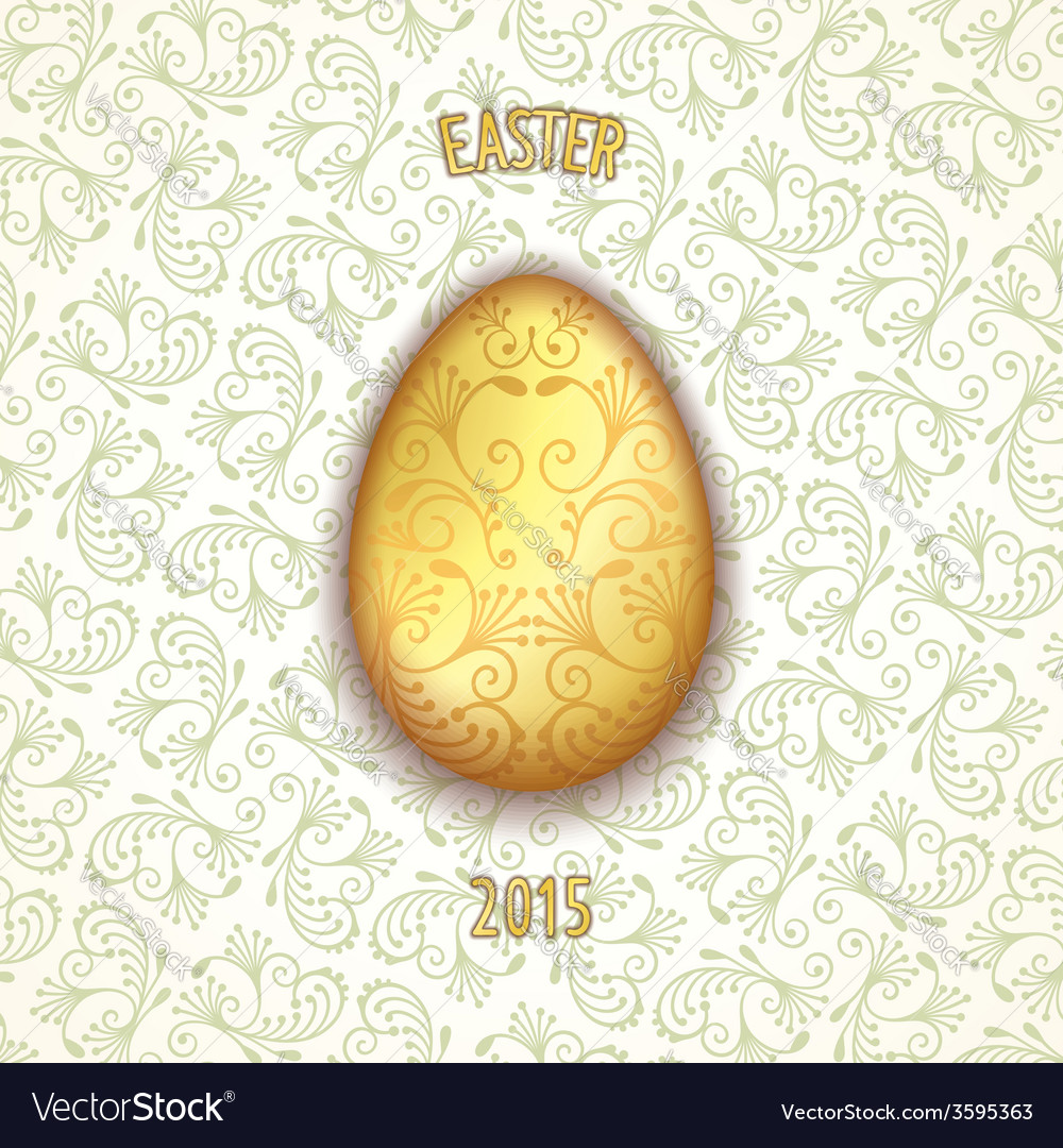 Jewelery easter egg vector | Price: 1 Credit (USD $1)