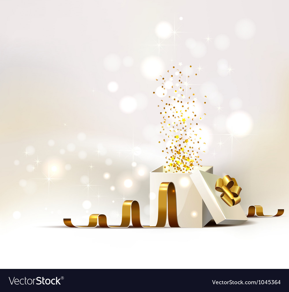 Christmas gift vector | Price: 1 Credit (USD $1)