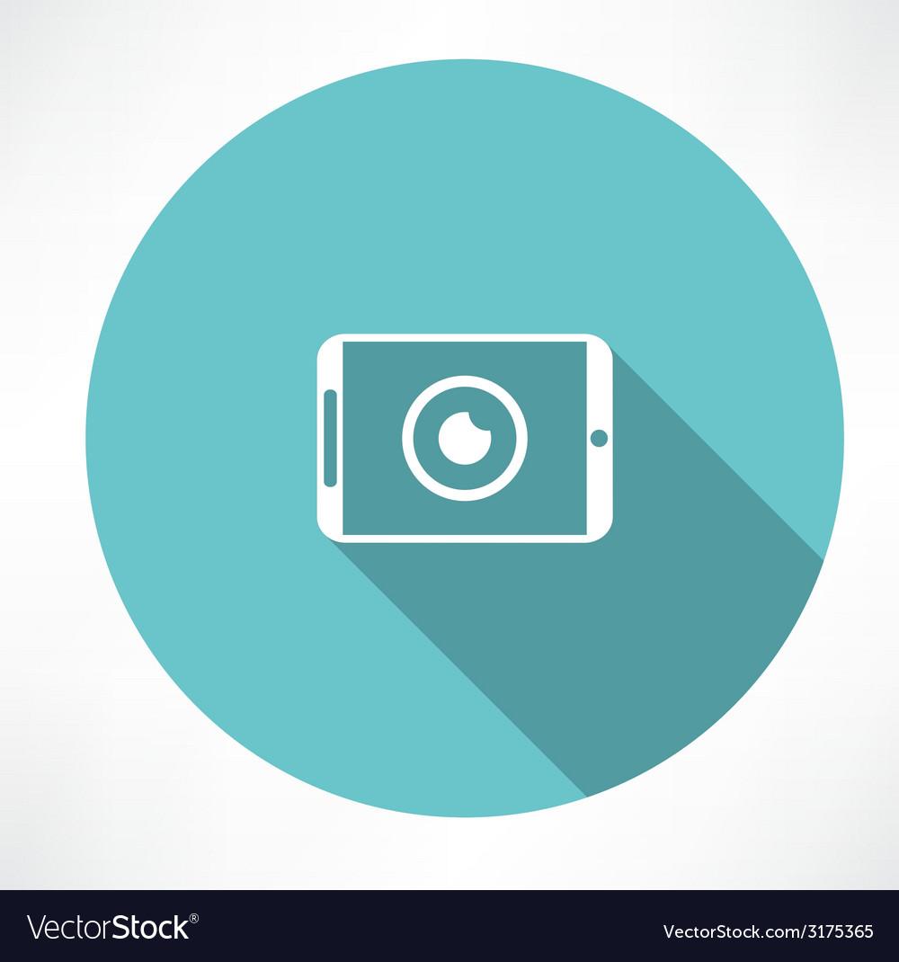 Camera phone icon vector | Price: 1 Credit (USD $1)
