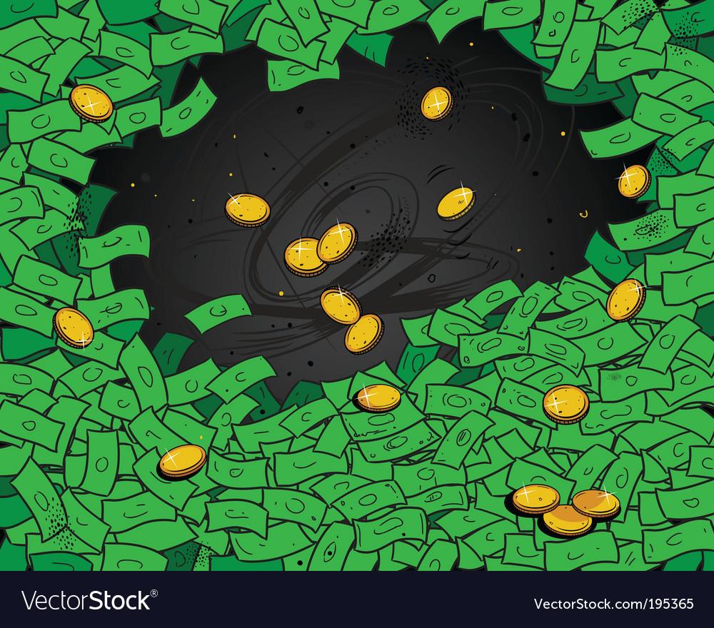 Money wallpaper vector | Price: 1 Credit (USD $1)