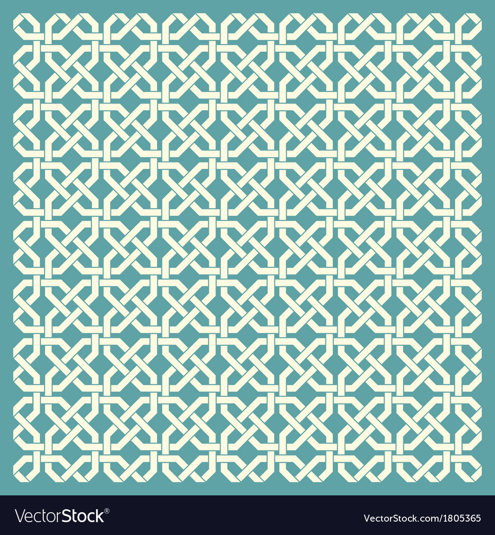 Retro geometric seamless pattern vector | Price: 1 Credit (USD $1)