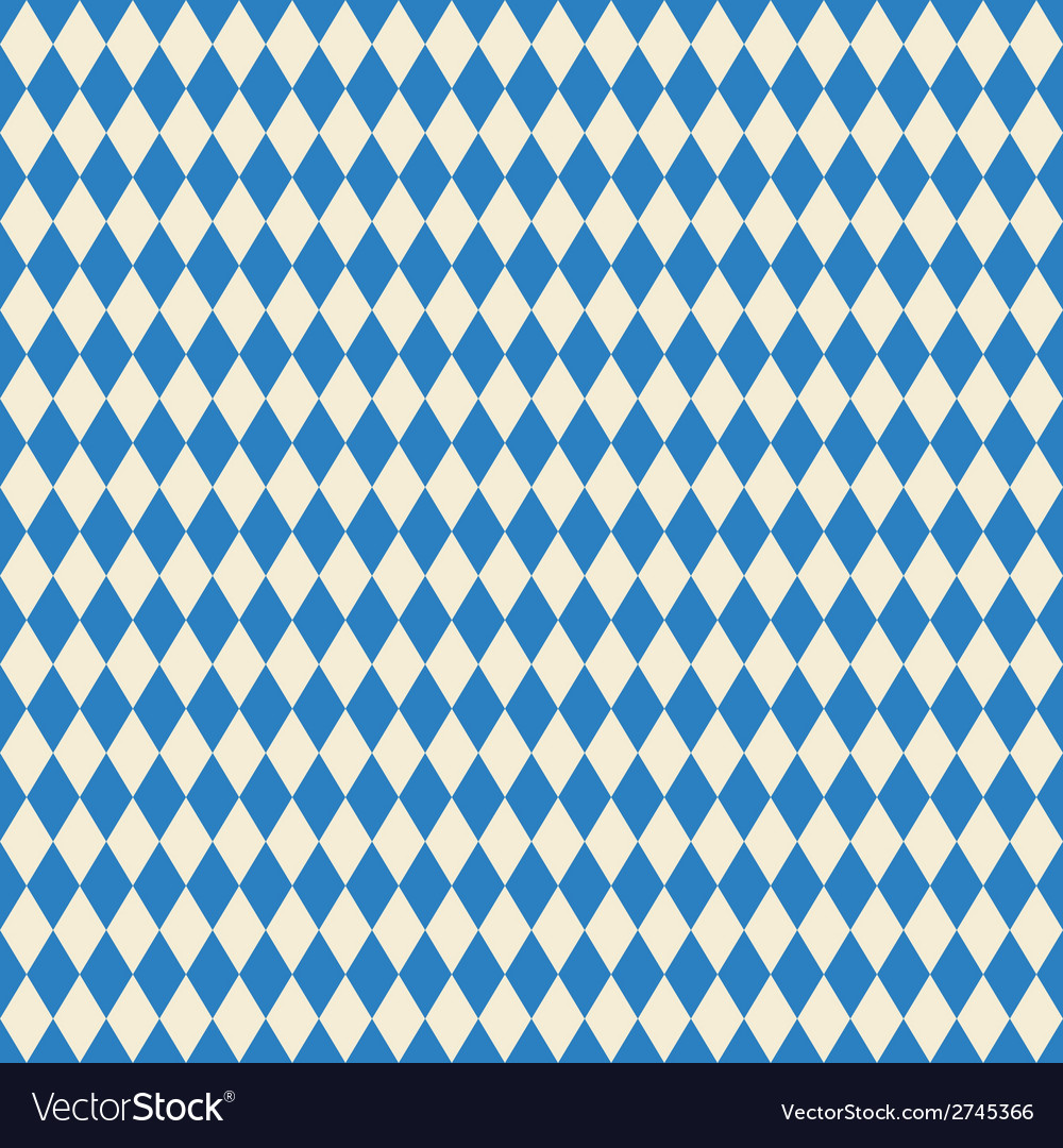 Seamless texture bavarian flag vector | Price: 1 Credit (USD $1)